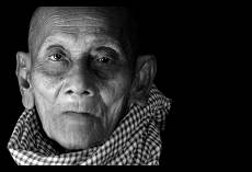 Old Man with Krama | Angkor Wat | Cambodia