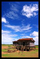 Traditional House in the Countryside | Prek Chamlak | Cambodia