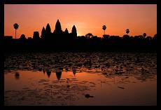 Sunset above Angor Wat | Siem Reap | Cambodia