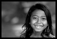 Smile of Khmer Girl | Kratie | Cambodia