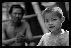 Father and Son | Muang Ngoi Neua | Laos