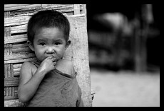 Small Hungry Boy | Muang Ngoi Neua | Laos