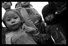 Curious Children | Village near Muang Sing | Laos