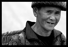 Old Woman Going to the Market | Muang Sing | Laos